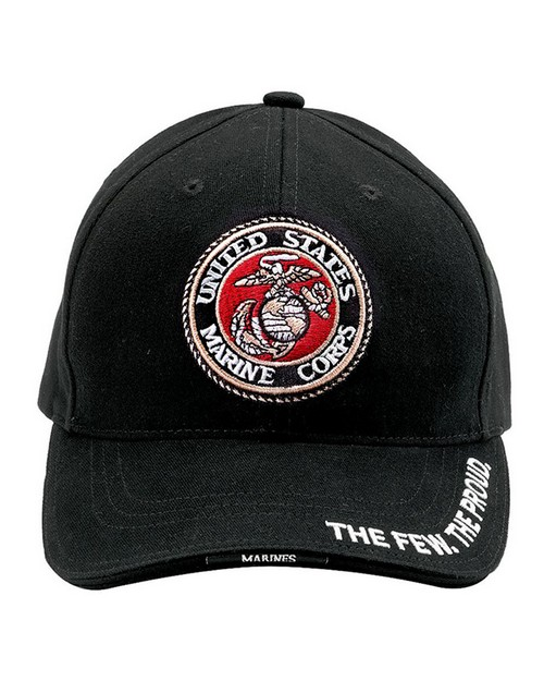 Rothco 9327 Deluxe Low Profile Cap With USMC Globe & Anchor Logo