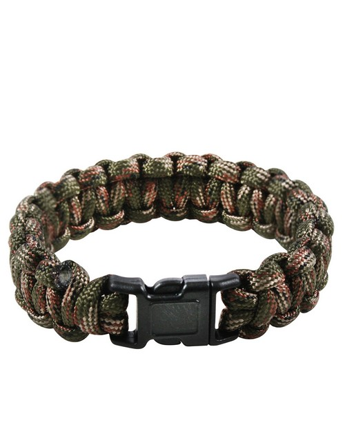 Rothco 932 Multi-Colored Paracord Bracelet