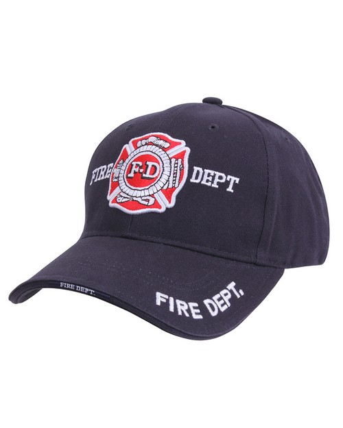 Rothco 9365 Deluxe Fire Department Low Profile Cap