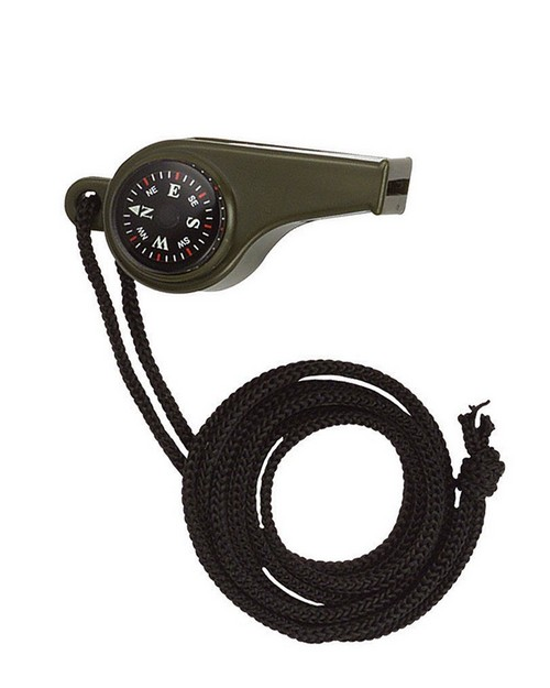 Rothco 9401 Super Whistle with Compass & Thermometer