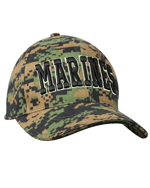 Rothco 9437 Deluxe Marines Low Profile Insignia Cap