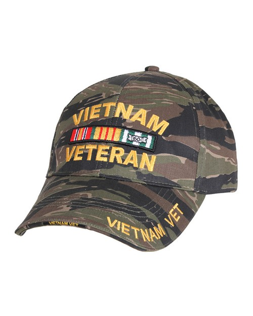 Rothco 9494 Deluxe Low Profile Vietnam Tiger Stripe Cap