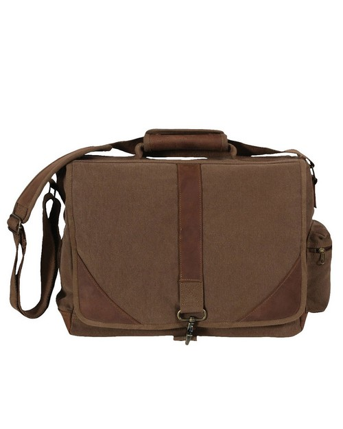 Rothco 9690 Vintage Canvas Urban Pioneer with Leather Accents Laptop