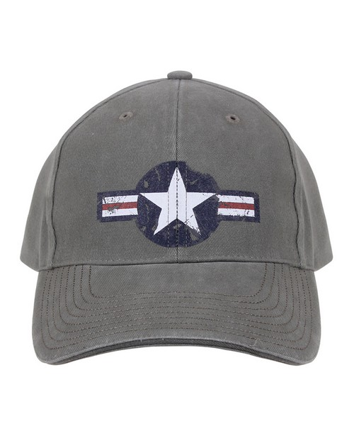 Rothco 9714 Vintage Air Corps Logo Low Profile Cap