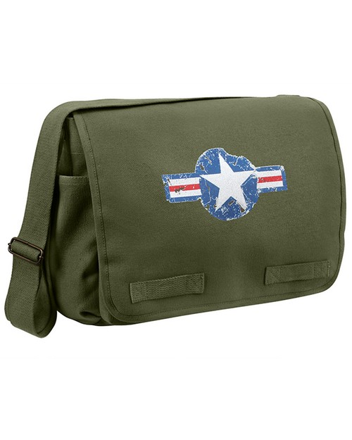 Rothco 9756 Air Corps Heavyweight Classic Messenger Bag