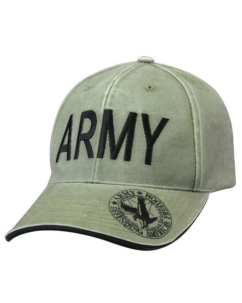 Rothco 9788 Vintage Deluxe Army Low Profile Insignia Cap