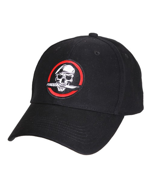 Rothco 9813 Skull/Knife Deluxe Low Profile Cap
