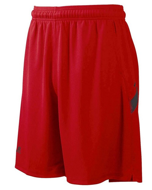 Russell Athletic 6B4DPM Dri-Power Colorblock Short