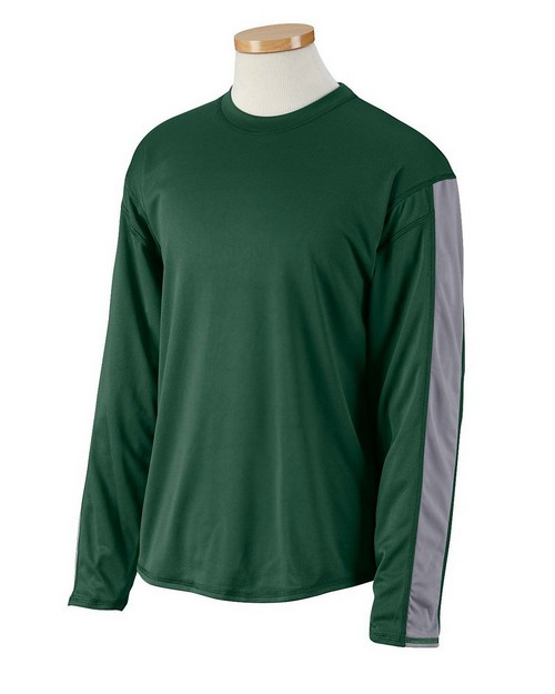 Russell Athletic 6B5DPM Dri-Power Long-Sleeve Performance T-Shirt