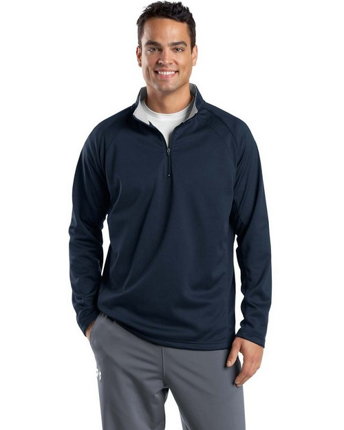 Sport-Tek F243 Sport-Wick 1/4-Zip Fleece Pullover by Port Authority