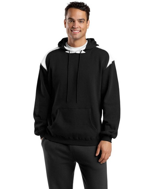 Sport-Tek F264 Pullover Hooded Sweatshirt with Contrast Color by Port Authority