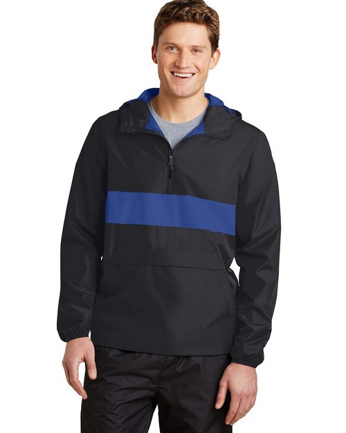 Sport-Tek JST65 Zipped Pocket Anorak