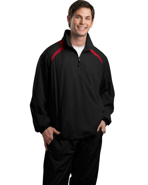 Sport-Tek JST75 1/2-Zip Wind Shirt by Port Authority