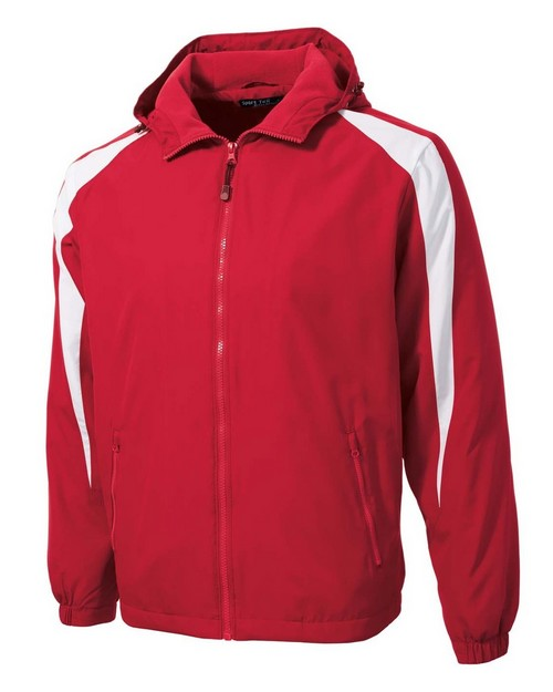 Sport-Tek JST81 Fleece-Lined Colorblock Jacket by Port Authority