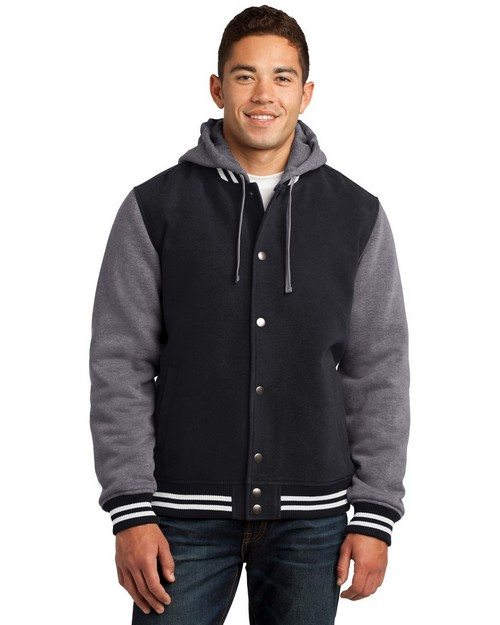 Sport-Tek JST82 Insulated Letterman Jacket by Port Authority
