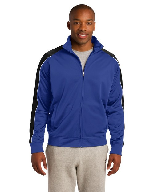 Sport-Tek JST92 Piped Tricot Track Jacket by Port Authority