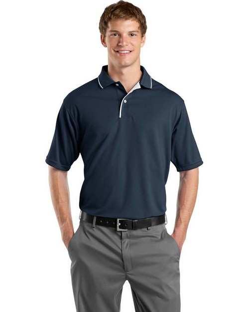 Sport-Tek K467 Dri-Mesh Polo with Tipped Collar and Piping by Port Authority