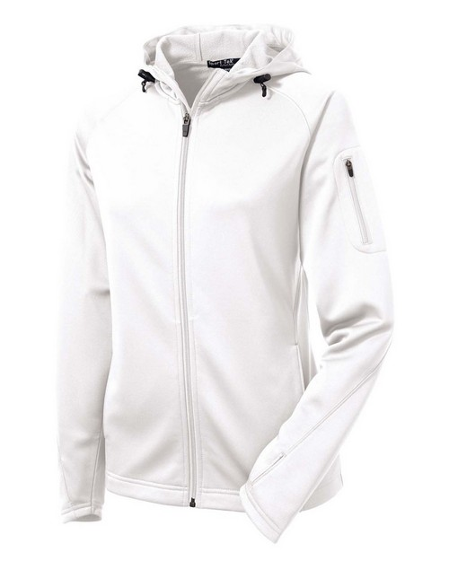 Sport-Tek L248 Ladies Tech Fleece Full-Zip Hooded Jacket by Port Authority