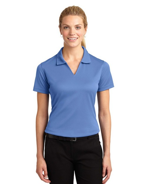 Sport-Tek L469 Ladies Dri-Mesh V-Neck Polo by Port Authority