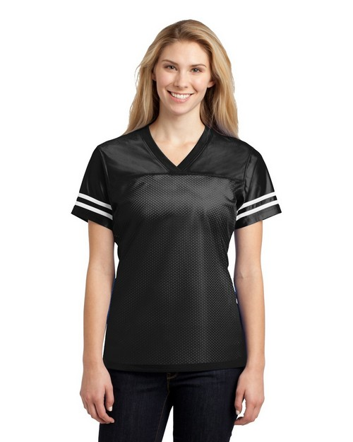 Sport-Tek LST307 Ladies PosiCharge 8482 Replica Jersey by Port Authority