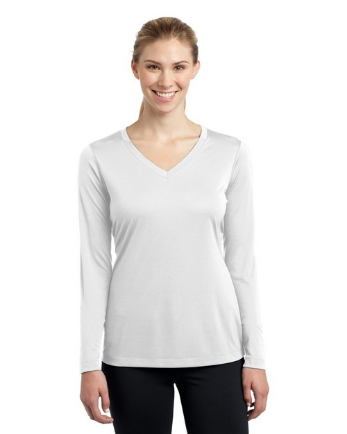 Sport-Tek LST353LS Ladies Long Sleeve V-Neck Competitor Tee by Port Authority