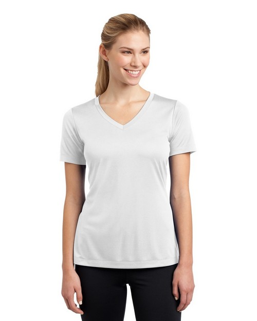 Sport-Tek LST353 Ladies V Neck Competitor Tee by Port Authority