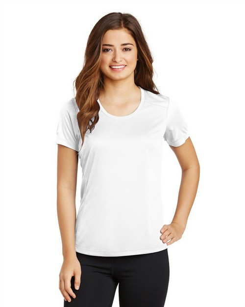 Sport-Tek LST380 Ladies PosiCharge Elevate Scoop Neck Tee