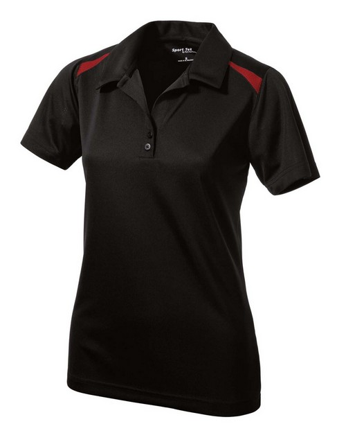 Sport-Tek LST670 Ladies Vector Sport-Wick Polo by Port Authority