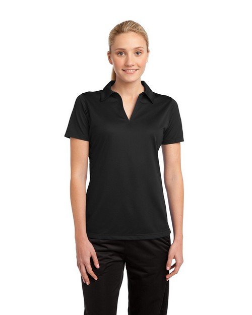 Sport-Tek LST690 Ladies Active Textured Polo by Port Authority