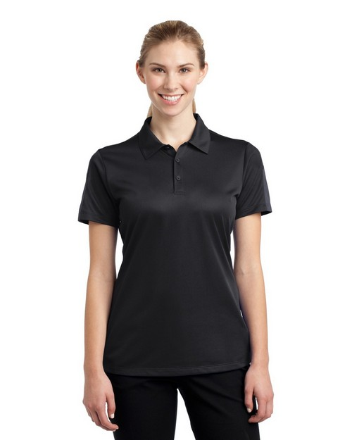 Sport-Tek LST695 Ladies Active Textured Colorblock Polo by Port Authority