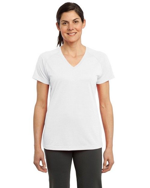 Sport-Tek LST700 Ladies Ultimate Performance V-Neck T-Shirt by Port Authority