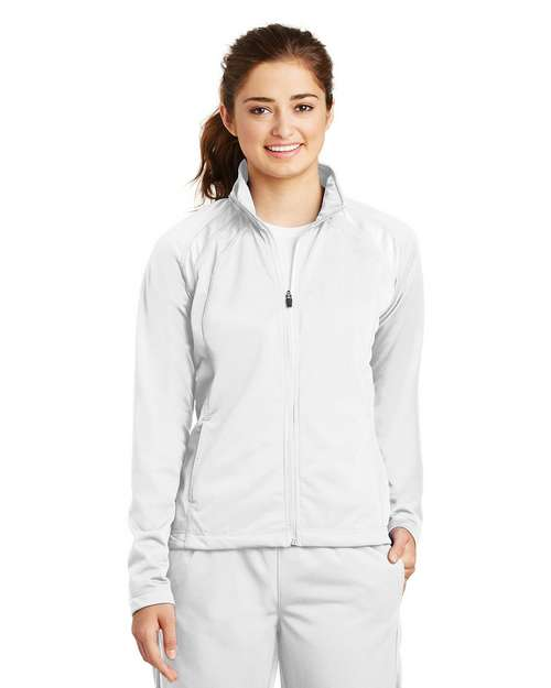 Sport-Tek LST90 Ladies Tricot Track Jacket by Port Authority