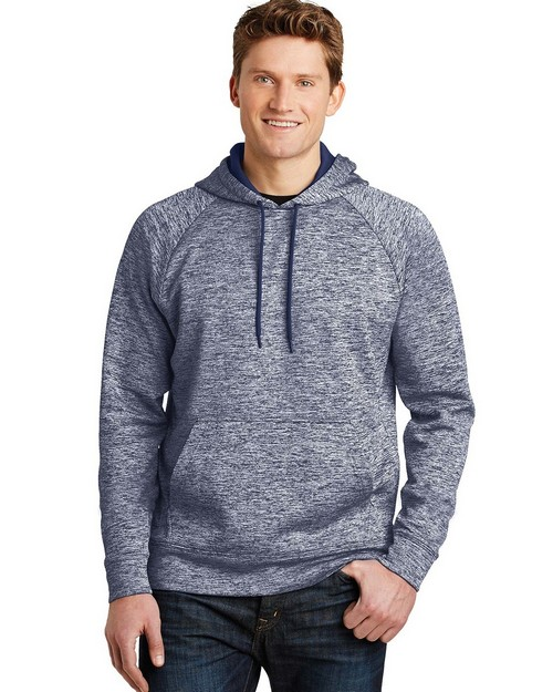 Sport-Tek ST225 PosiCharge Electric Heather Fleece Hooded Pullover