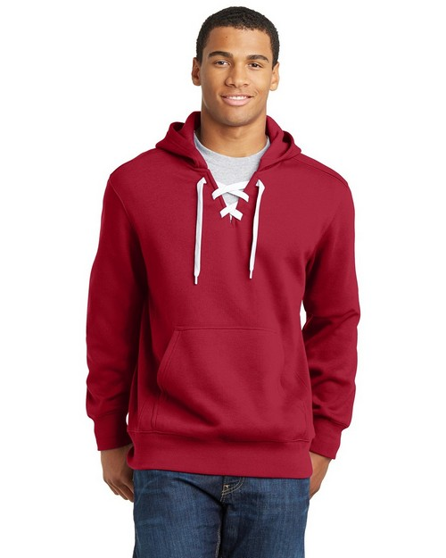 Sport-Tek ST271 Lace Up Pullover Hooded Sweatshirt