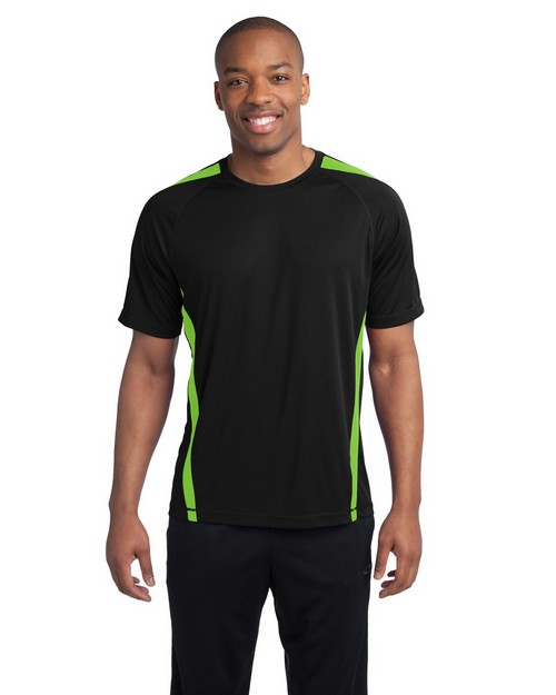 Sport-Tek ST351 Colorblock Competitor Tee by Port Authority