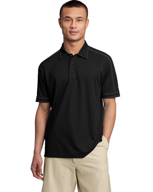 Sport-Tek ST659 Contrast Stitch Micropique Sport-Wick Polo by Port Authority