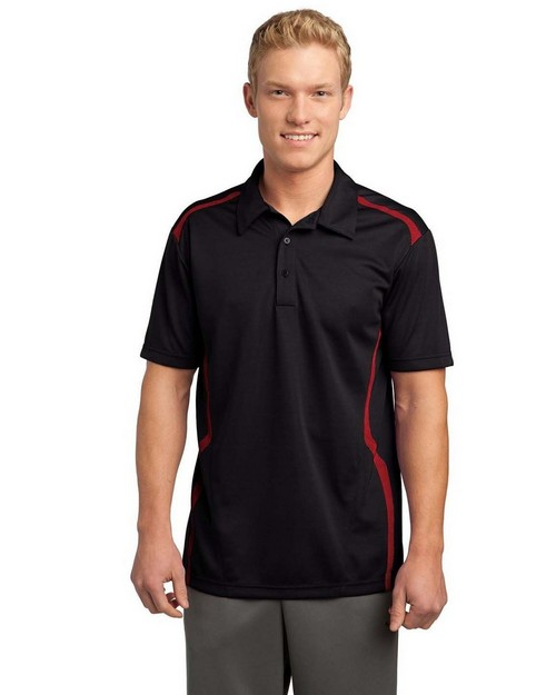 Sport-Tek ST670 Vector Sport-Wick Polo by Port Authority