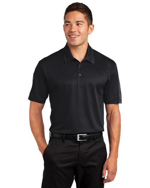Sport-Tek ST695 Active Textured Colorblock Polo by Port Authority
