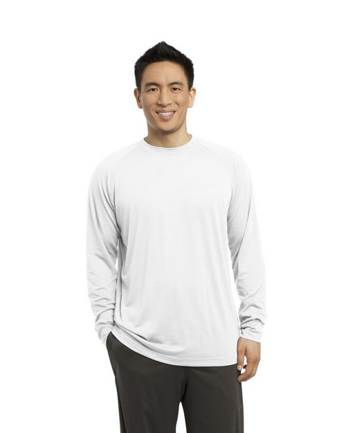 Sport-Tek ST700LS Long Sleeve Ultimate Performance Crew T-Shirt by Port Authority