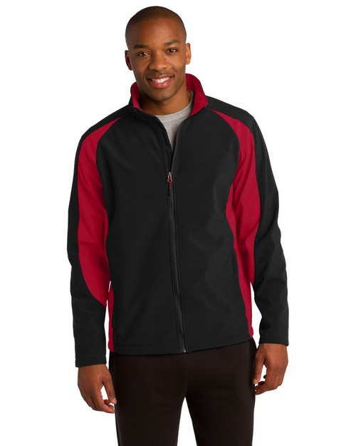 Sport-Tek ST970 Colorblock Soft Shell Jacket by Port Authority
