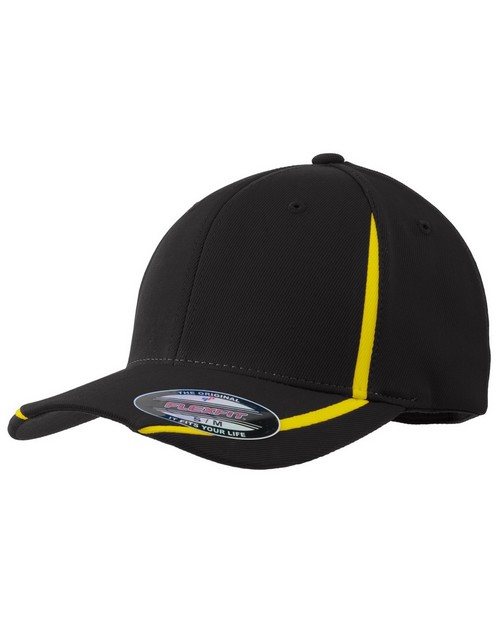 Sport-Tek STC16 Flexfit Performance Colorblock Cap