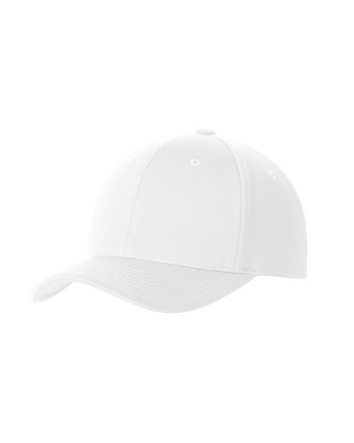 Sport-Tek STC22 Flexfit Cool and Dry Poly Block Mesh Cap by Port Authority