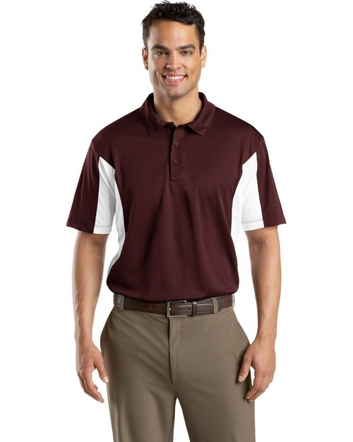 Sport-Tek TST655 Tall Side Blocked Micropique Polo by Port Authority