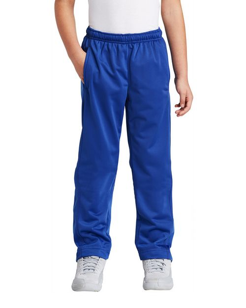 Sport-Tek YPST91 Youth Tricot Track Pants by Port Authority