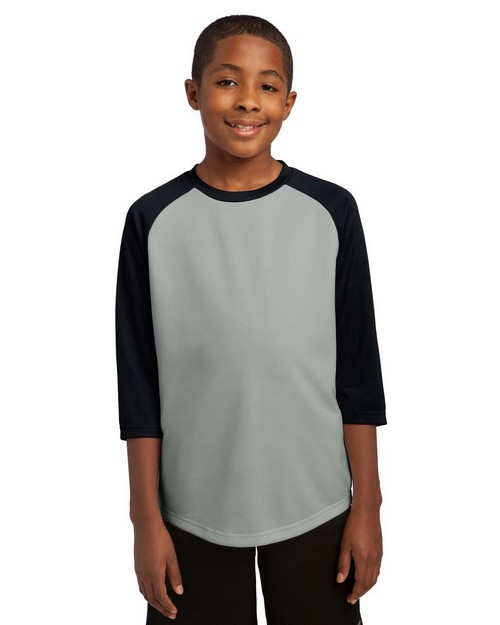 Sport-Tek YST205 Youth PosiCharge Baseball Jersey by Port Authority