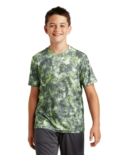 Sport-Tek YST330 Youth Mineral Freeze Tee