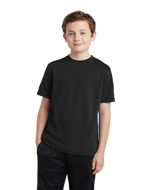 Sport-Tek YST340 Youth PosiCharge RacerMesh Tee