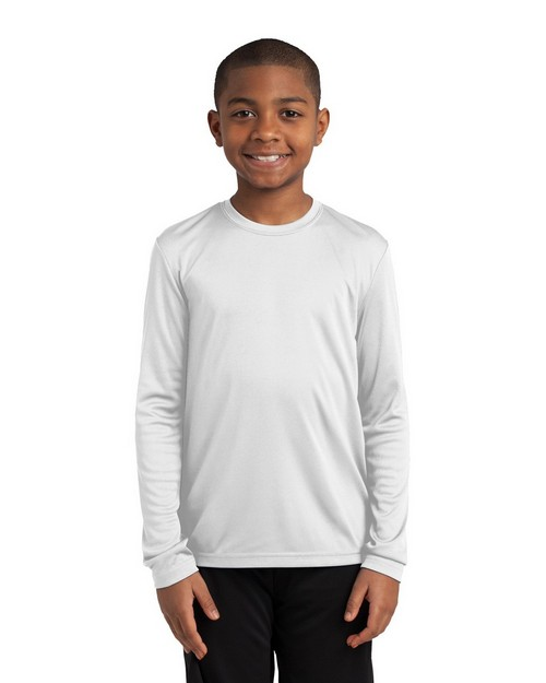 Sport-Tek YST350LS Youth Long Sleeve Competitor Tee by Port Authority