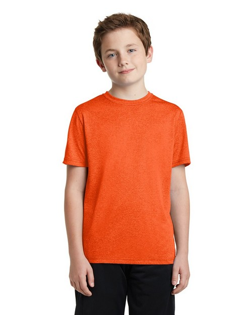 Sport-Tek YST360 Youth Heather Contender Tee