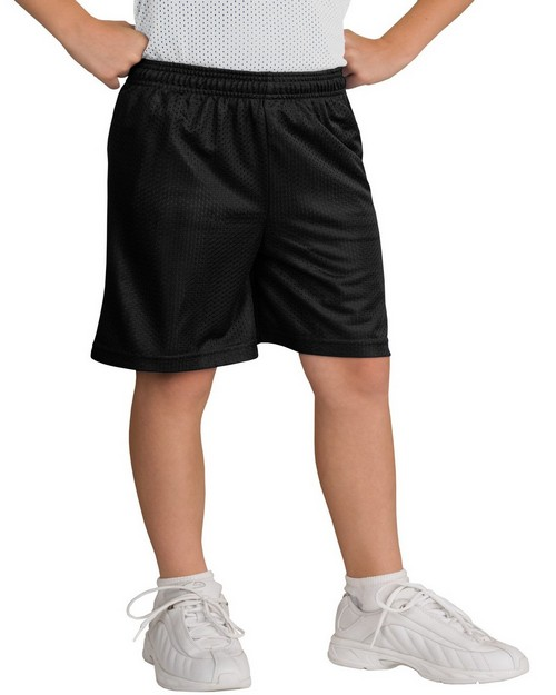 Sport-Tek YST510 Youth PosiCharge Classic Mesh Short by Port Authority